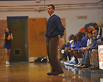 Oxford High head coach Drew Tyler vs. Baldwyn in boys high school basketball action in Oxford, Miss. on Monday, January 3, 2011. Baldwyn won 73-53.