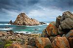 Sugarloaf Rock at Cape Naturaliste.  Leeuwin-Naturaliste National Park, Western Australia, AUSTRALIA.