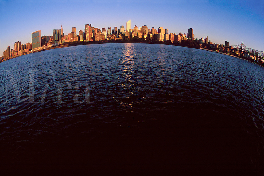 "#JP0828 ""Citicorp Tower In Skyline #2 - New York NY"