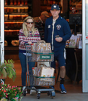 Reese Witherspoon and Jim Toth Shopping in Brentwood