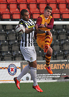 St Mirren v Motherwell Under 20's 110214