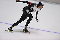 SCHAATSEN: CALGARY: Olympic Oval, 09-11-2013, Essent ISU World Cup, 1000m, Mark Jackson (NZL), ©foto Martin de Jong