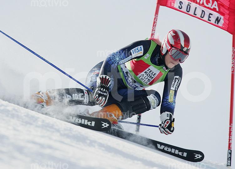 Ski Alpin; Saison 2004/2005 Riesenslalom Soelden Damen Kristina Koznick (USA)