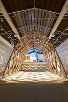 Venice, Italy - 15th Architecture Biennale 2016, &quot;Reporting from the Front&quot;.<br /> International Pavilion.<br /> The Work of Solano Benitez in Paraguay.