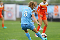 Piscataway, NJ - Saturday May 20, 2017: Erica Skroski during a regular season National Women's Soccer League (NWSL) match between Sky Blue FC and the Houston Dash at Yurcak Field.  Sky Blue defeated Houston, 2-1.