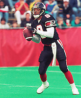 Damon Allen Ottawa Rough Riders. Copyright photograph Ted Grant