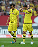 FUSSBALL   1. BUNDESLIGA  SAISON 2012/2013   2. Spieltag 1. FC Nuernberg - Borussia Dortmund       01.09.2012 Mats Hummels , Neven Subotic (v.li., Borussia Dortmund)