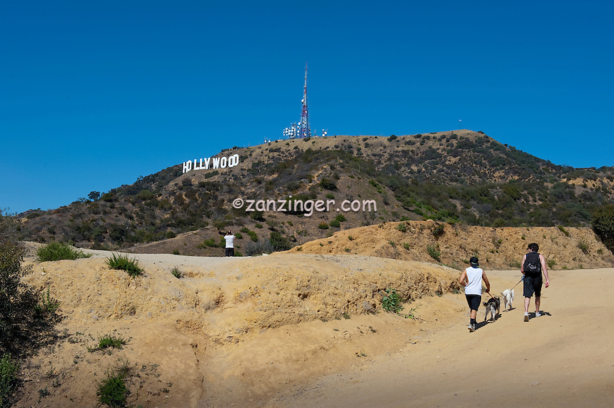 Hollywood Hills, Sign, Hiking Trails,  Los Angeles, CA