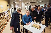 2017/01/13 Politik | Bundespräsident Gauck besucht Stasi-Unterlagen-Archiv