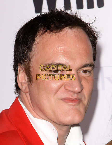 "QUENTIN TARANTINO .Attending the ""Whip It"" Los Angeles Premiere held At Grauman's Chinese Theatre, Hollywood, California, USA, 29th September 2009..portrait headshot red jacket white shirt.CAP/ADM/KB.©Kevan Brooks/AdMedia/Capital Pictures."