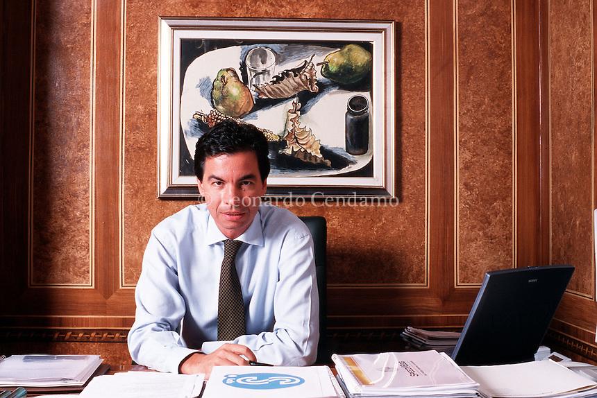 2000: ANGELO MORATTI JR © Leonardo Cendamo