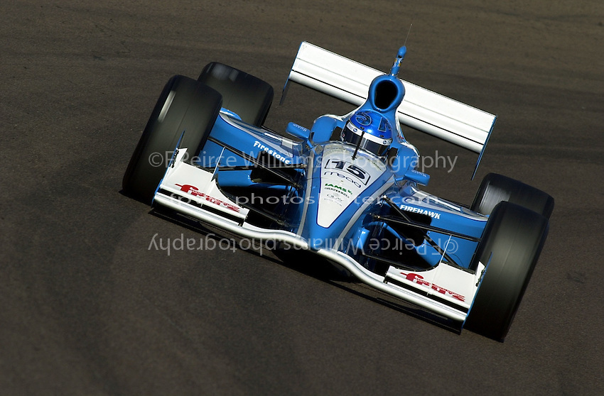 Sarah Fisher..Indy Racing Northern Lights Series (IRNLS) Pennzoil Cooper World 200  18 March,2001 Phoenix,AZ,USA.Copyright©F.Peirce Williams 2001 ..
