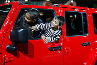 The new Jeep Wrangler Unlimited X is exhibit at the 2015 New York International Auto Show in New York City. 04.06.2015. Kena Betancur/VIEWpress.