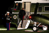 US President Barack Obama boards Marine One on the South Lawn of the White House in Washington, DC, USA, 14 November 2016. President Obama is traveling overseas to Greece, Germany and Peru.<br /> Credit: Shawn Thew / Pool via CNP /MediaPunch