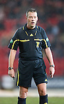 St Johnstone v Partick Thistle....09.02.11  Scottish Cup 5th Round.Referee Iain Brines.Picture by Graeme Hart..Copyright Perthshire Picture Agency.Tel: 01738 623350  Mobile: 07990 594431