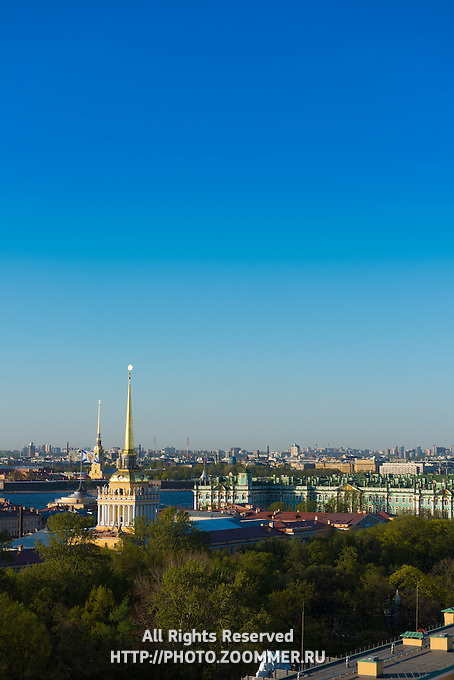 St Petersburg Skyline With Admiralty