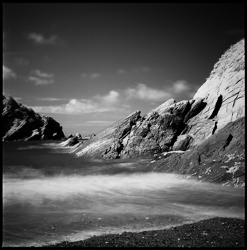 Rocks, Berrynarbor, North Devon, (Infrared), 2011 by Paul Cooklin