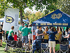 Sept. 28, 2013; Tailgaters before the game against Oklahoma.<br /> <br /> Photo by Matt Cashore/University of Notre Dame