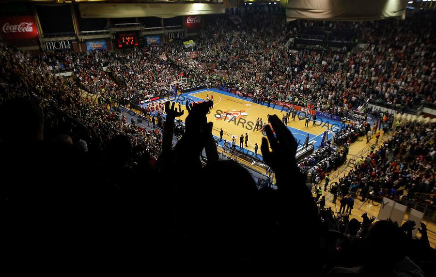 Kosarka Euroleague season 2015-2016<br /> Euroleague <br /> Crvena Zvezda v Real Madrid<br /> Dvorana Pionir Hall Pionir <br /> Beograd, 27.11.2015.<br /> foto: Srdjan Stevanovic/Starsportphoto &copy;