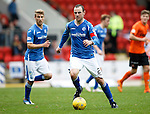 St Johnstone v Dundee United...26.09.15  SPFL   McDiarmid Park, Perth<br /> Dave Mackay<br /> Picture by Graeme Hart.<br /> Copyright Perthshire Picture Agency<br /> Tel: 01738 623350  Mobile: 07990 594431