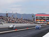 Feb 26, 2017; Chandler, AZ, USA; NHRA pro stock driver Tanner Gray during the Arizona Nationals at Wild Horse Pass Motorsports Park. Mandatory Credit: Mark J. Rebilas-USA TODAY Sports