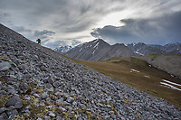 Near the headwaters of the Ivishak river. Arctic National Wildlife Refuge, Brooks Range, Arctic Alaska.
