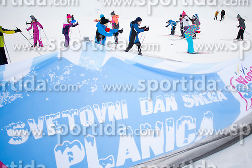 Snow Day Planica during FIS Cross Country World Cup Planica 2016, on January 16, 2016 at Planica, Slovenia. Photo By Urban Urbanc / Sportida