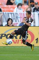 DC United mifielder Andy Najar (14).  DC United defeated Chivas USA 3-2 at RFK Stadium, Saturday  May 29, 2010.