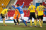 St Johnstone v Livingston.....30.11.13     Scottish Cup 4th Round<br /> Sanil Jahic celebrates his goal<br /> Picture by Graeme Hart.<br /> Copyright Perthshire Picture Agency<br /> Tel: 01738 623350  Mobile: 07990 594431