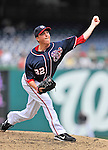 5 September 2011: Washington Nationals pitcher Tom Gorzelanny on the mound against the Los Angeles Dodgers at Nationals Park in Los Angeles, District of Columbia. The Nationals defeated the Dodgers 7-2 in the first game of their 4-game series. Mandatory Credit: Ed Wolfstein Photo