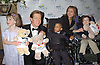 .MEREDITH VIEIRA AND WILLIAM H MACY & KIDS RACHEL YOURTH, TYJUAN FELTON & THOMAS ELLENSON OF ALL MY CHILDREN IN MICHAEL KORS  AT THE UNITED CEREBRAL PALSY 48TH ANNUAL AWARDS DINNER.ON APRIL 23,2003 AT THE MARRIOTT MARQUIS..PHOTO BY ROBIN PLATZER,TWIN IMAGES