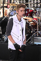 Justin Bieber performs on NBC's Today Show Toyota Concert Series in New York City. June 15, 2012. © RW/MediaPunch Inc.