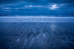 A blue sunrise at Revere Beach, Revere, MA, USA