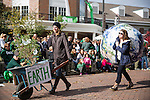 SOUL shows how we can be sustainable during the homecoming parade on Oct. 11, 2014
