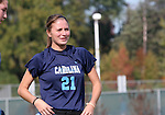 UNC's Julie Yates on Sunday, November 6th, 2005 at SAS Stadium in Cary, North Carolina. The University of North Carolina Tarheels defeated the Virginia Cavaliers 4-1 in the Championship Game of the Atlantic Coast Conference Women's Soccer Tournament.