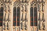Close-up of Town Hall, Bruges, Belgium, Europe