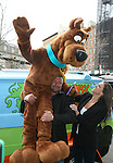 Scooby Doo, WWE Superstar Triple H, and WWE Chief Brand Officer Stephanie McMahon Attend World Premiere of Scooby Doo! WrestleMania Mystery Held at Tribeca Cinemas, NY