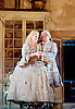 The Barber of Seville <br /> by Rossini <br /> English National Opera, London Coliseum, London, Great Britain <br /> Rehearsal <br /> 25th September 2015 <br /> <br /> <br /> Morgan Pearce as Figaro <br /> <br /> Kathryn Rudge as Rosina <br /> Eleazar Rodriguez as Count Almaviva <br /> <br /> <br /> <br /> <br /> <br /> Photograph by Elliott Franks <br /> Image licensed to Elliott Franks Photography Services