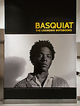 Basquiat: The Unknown Notebooks Installation