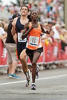 Falmouth Road Race, Alice Kumutai