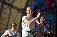 LONDON, ENGLAND - JULY 17: Dan Snaith of 'Caribou' performing at Citadel, Victoria Park on July 17, 2016 in London, England.<br /> CAP/MAR<br /> &copy;MAR/Capital Pictures /MediaPunch ***NORTH AND SOUTH AMERICAS ONLY***