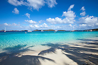 Honeymoon beach, St. John, Virgin Islands national park