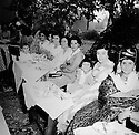 Iran 1952 At a wedding in Ourmieh, women of the Ghassemlou family.Right, Manigeh, sister of Abdul Rahman Ghassemlou<br />