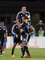 Santa Clara, California - Sunday September 2nd, 2012: San Jose Earthquakes vs Chivas USA at Buck Shaw Stadium, Stanford, Ca    San Jose Earthquakes defeated Chivas USA 4 - 0