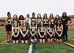 3-29-17, Huron High School girl's junior varsity lacrosse team