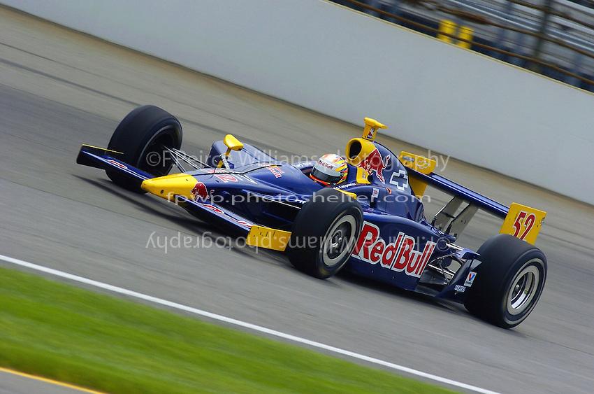 9-27 May,2004 Indianapolis Motor Speedway, Indiana, USA.Ed Carpenter..............