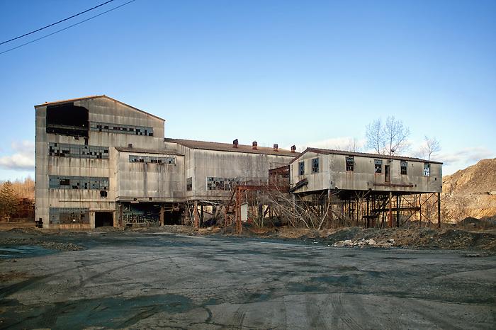 The Abandoned Mahanoy City coal breaker in Pennsylvania