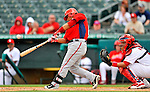 3 March 2011: Washington Nationals' catcher Jhonatan Solano in action during a Spring Training game against the St. Louis Cardinals at Roger Dean Stadium in Jupiter, Florida. The Cardinals defeated the Nationals 7-5 in Grapefruit League action. Mandatory Credit: Ed Wolfstein Photo