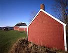 Red Farm Buildings.Appleton, Maine