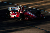20-21 Febuary, 2012 Birmingham, Alabama USA.Scott Dixon aboard Dario Franchitti's No.10.(c)2012 Scott LePage  LAT Photo USA